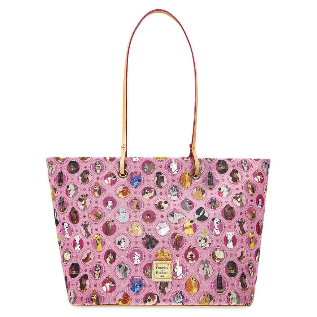 Pink Disney Dogs Tote