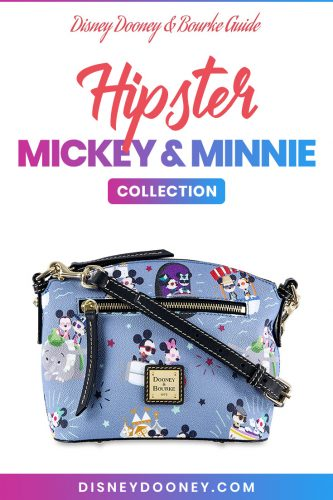 Pin me - Disney Dooney and Bourke Hipster Mickey & Minnie Collection