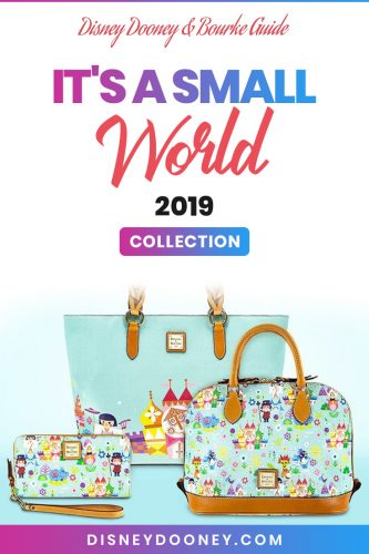 Pin me - Disney Dooney and Bourke It's a Small World 2019 Collection