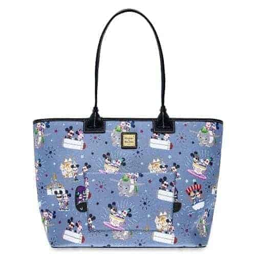 Hipster Mickey & Minnie Tote
