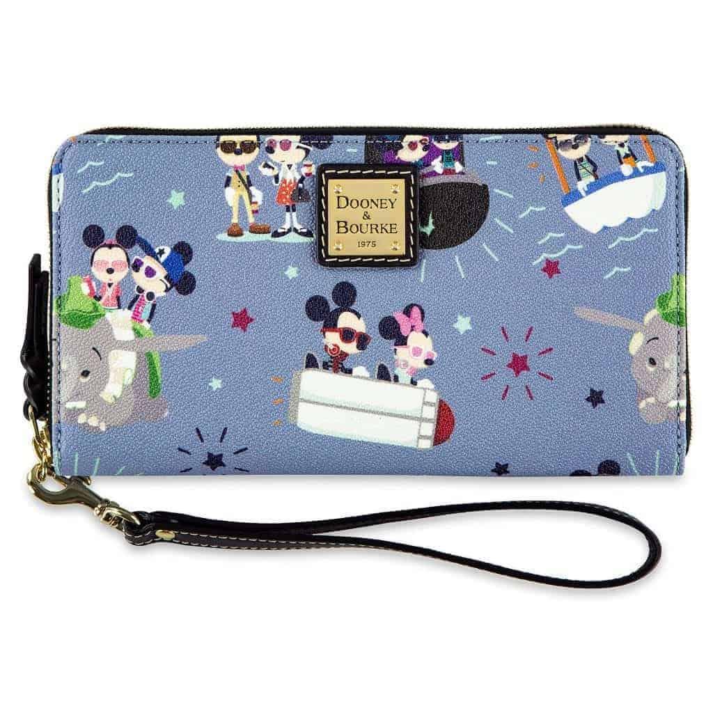 Hipster Mickey & Minnie Wallet