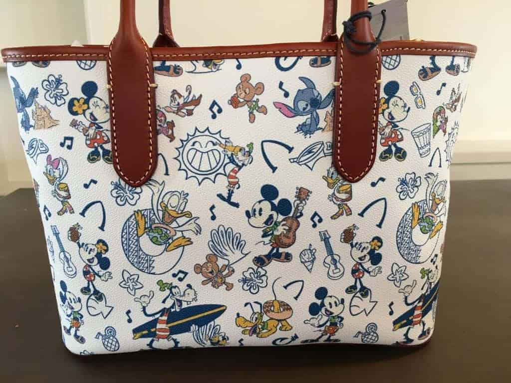 Aulani Mickey & Friends Large Tote (back)