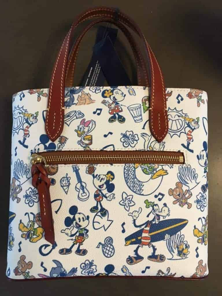 Aulani Mickey & Friends Mini Tote (back)