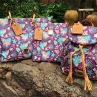 #3 - Aulani Purple Floral by Disney Dooney & Bourke