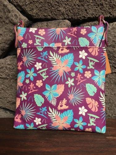 Aulani Purple Floral Crossbody (Back)