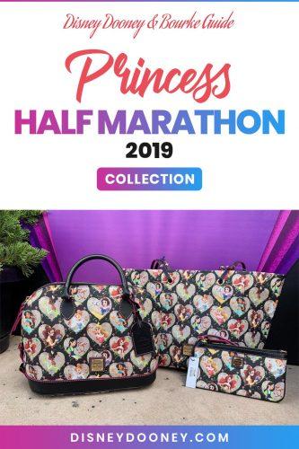 Pin me - Disney Dooney and Bourke Princess Half Marathon 2019 Collection