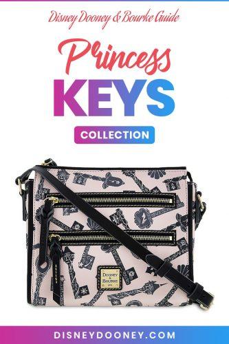 Pin me - Disney Dooney and Bourke Princess Keys Collection