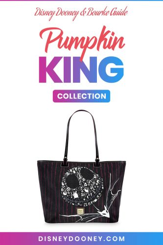 Pin me - Disney Dooney and Bourke Pumpkin King Collection