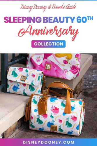 Pin me - Disney Dooney and Bourke Sleeping Beauty 60th Anniversary Collection