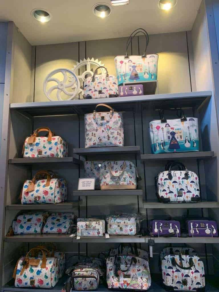 Disney Dooney & Bourke Bags at Disney World - March 2019