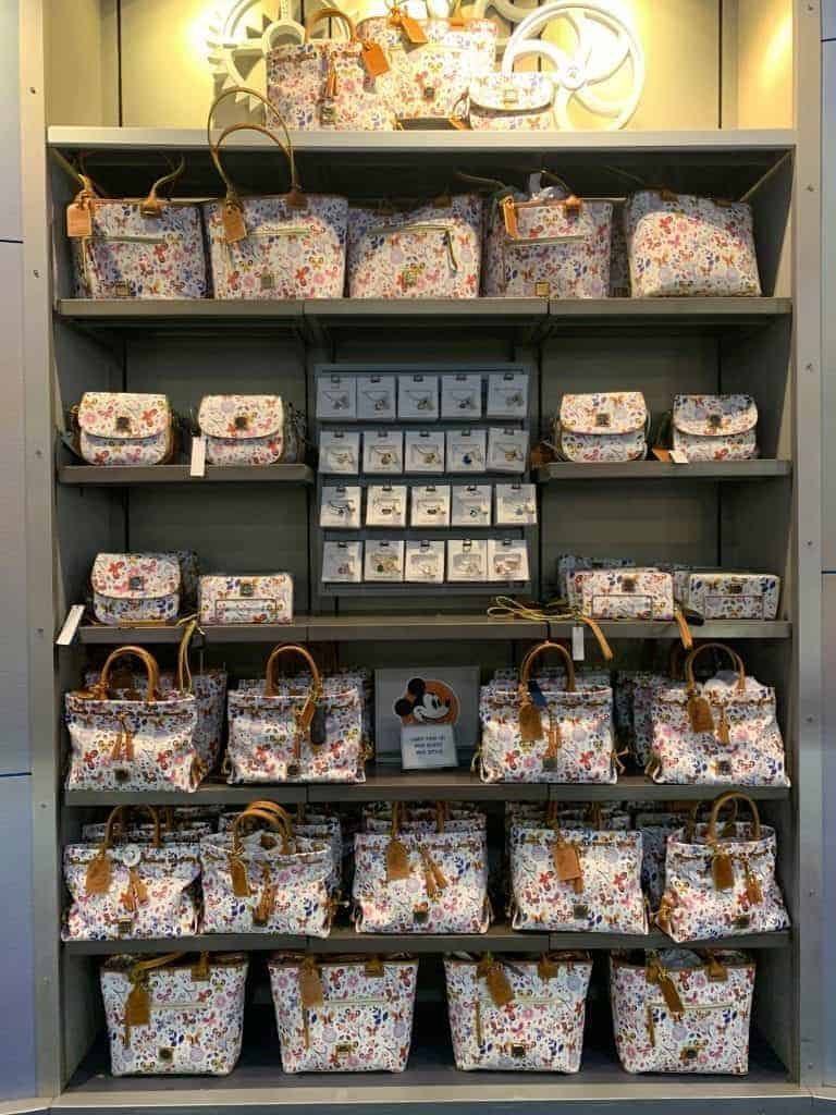 Disney Dooney & Bourke Flower and Garden Festival Collection at Mouse Gear in Epcot