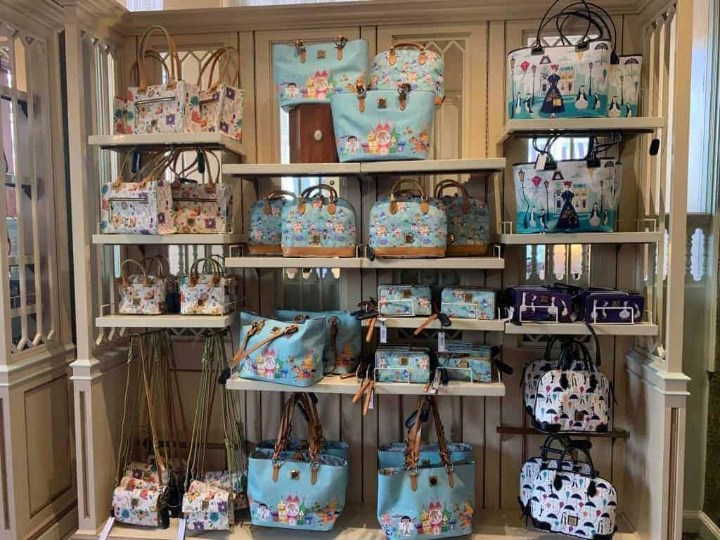 Disney Dooney and Bourke Handbags at Uptown Jewelers in Magic Kingdom