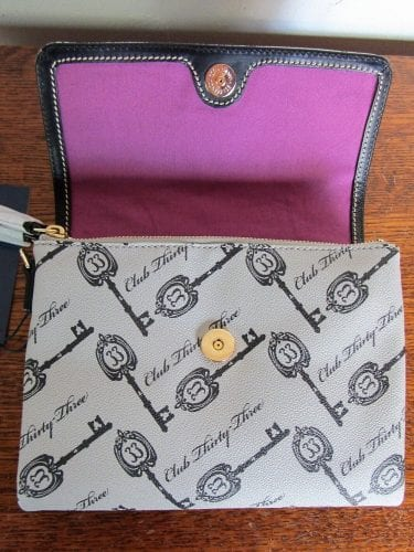 Club 33 Keys Crossbody (open)