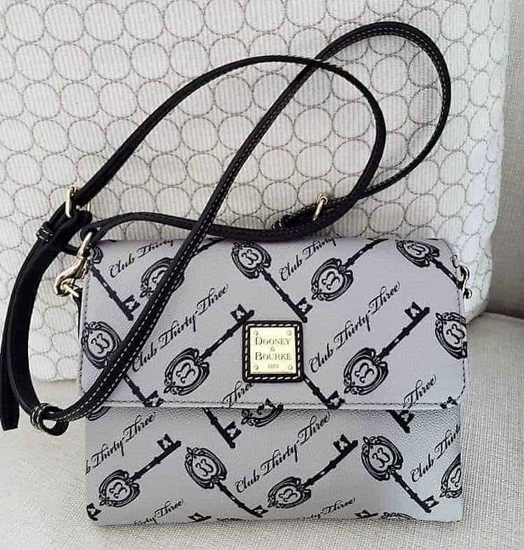 Disney Dooney & Bourke Club 33 Keys Crossbody with strap