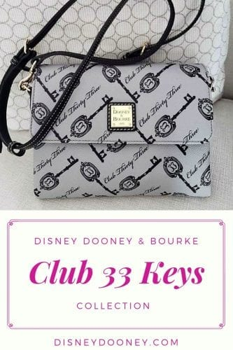 Disney Dooney & Bourke Club 33 Keys Collection