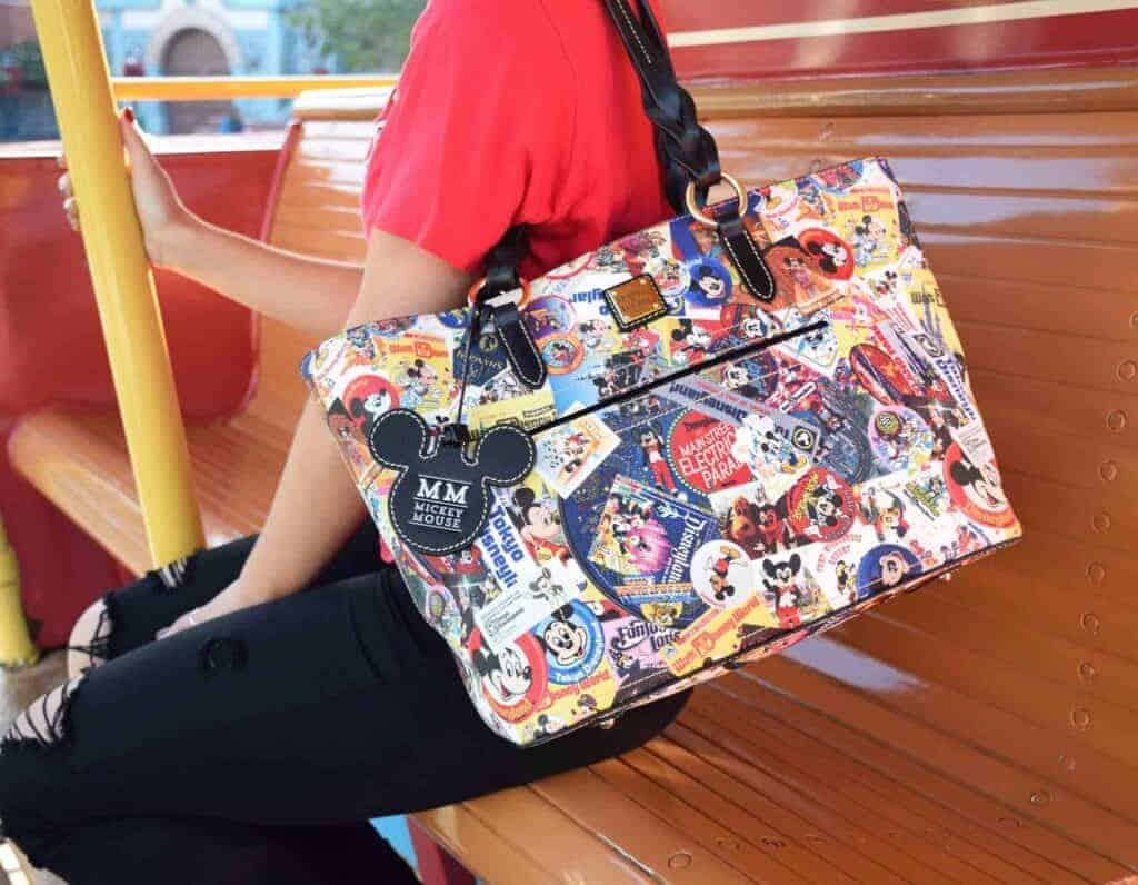 Mickey Through the Years Collage Tote