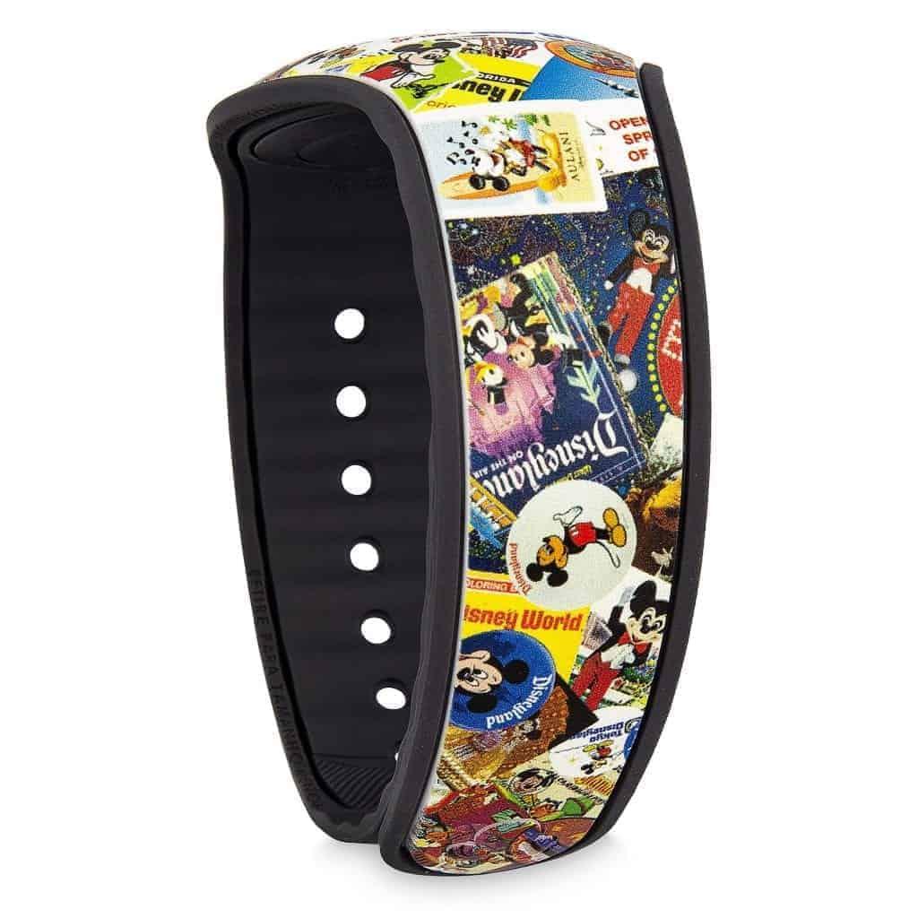 Mickey's Celebration MagicBand (back)