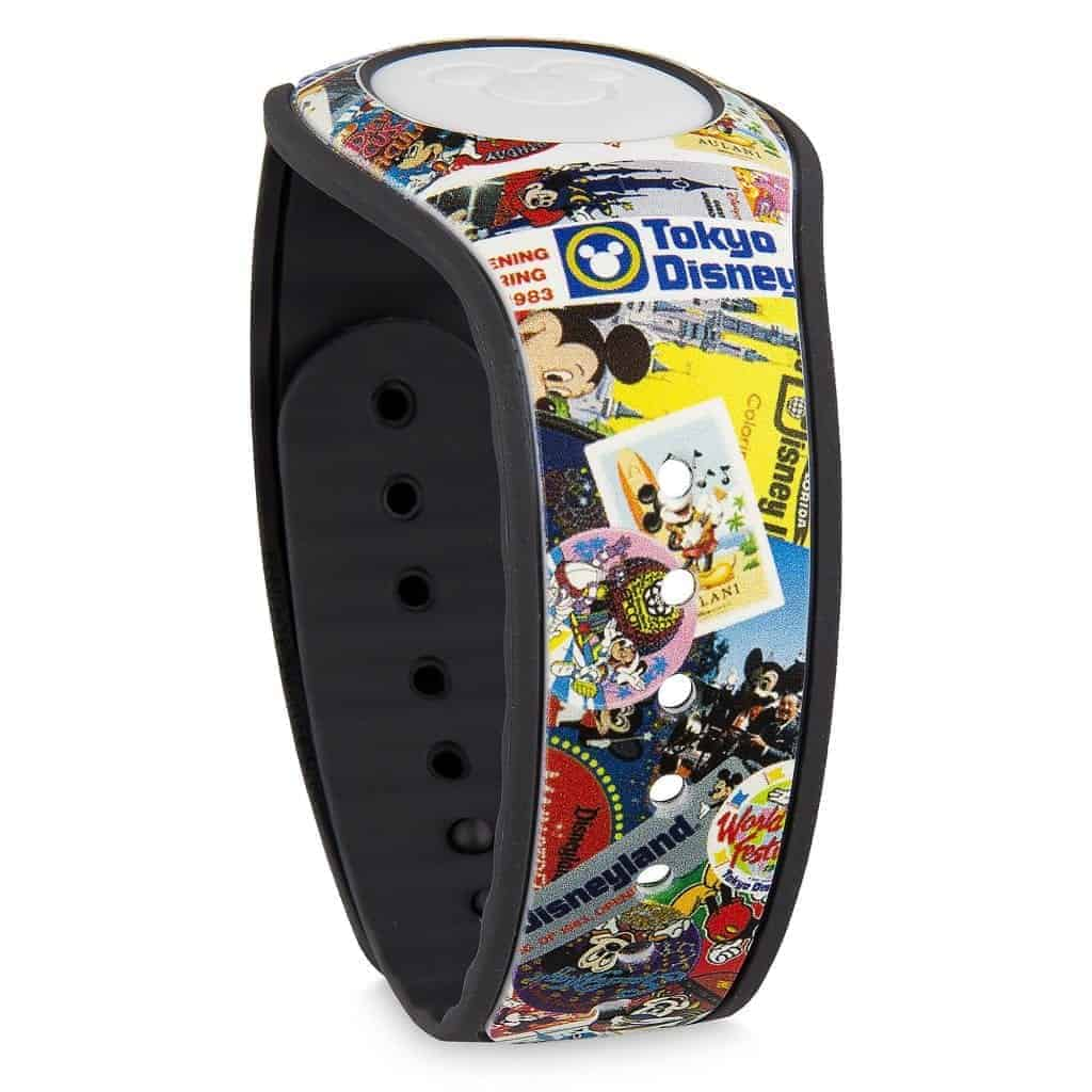 Mickey's Celebration MagicBand (front)