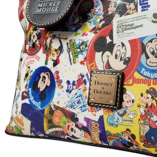 Mickey's Celebration Satchel (metal logo)