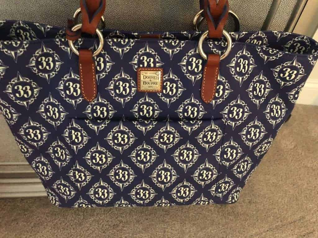 Inaugural Club 33 Walt Disney World Tote
