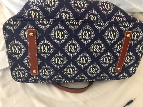 Inaugural Club 33 Walt Disney World Tote (bottom)