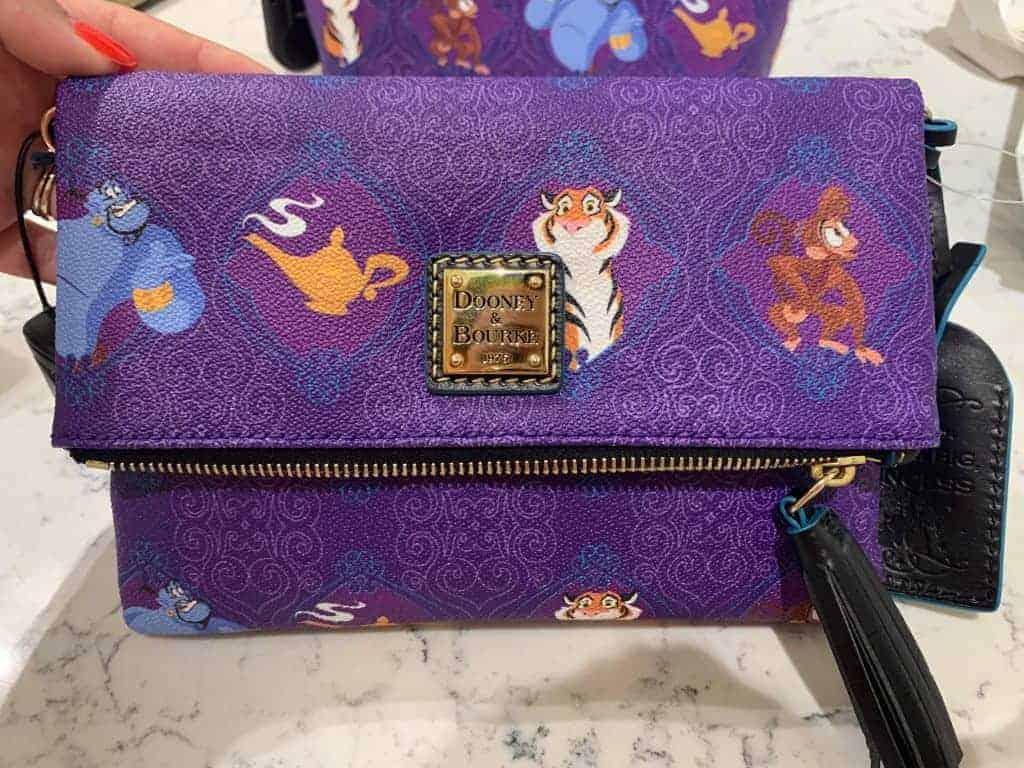 Aladdin Foldover Crossbody Bag