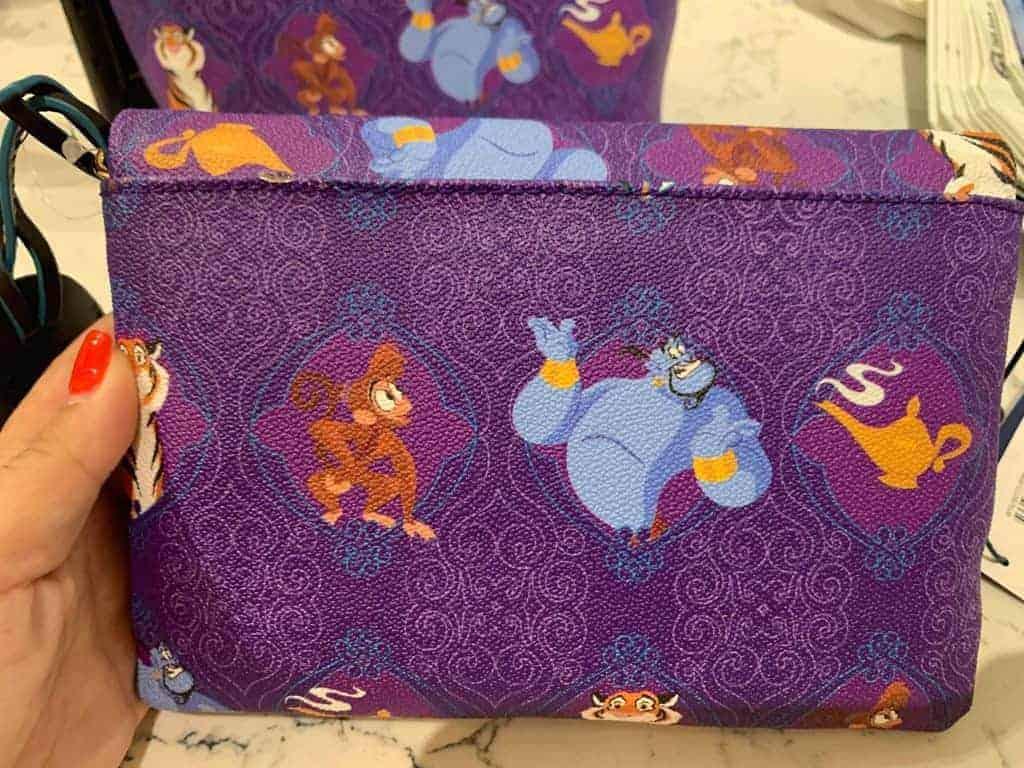 Aladdin Foldover Crossbody Bag (back)