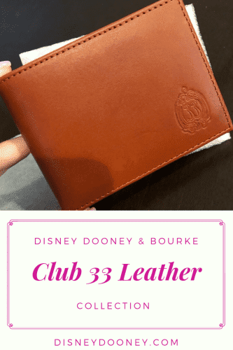 Pin me - Club 33 Leather Collection