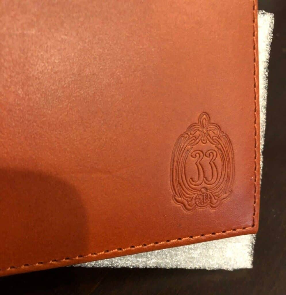 Club 33 Leather Men's Wallet (logo)