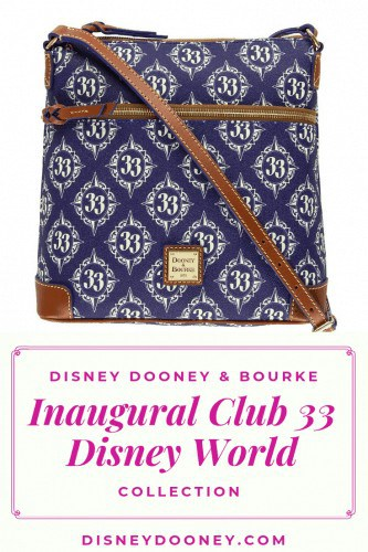 Disney Dooney and Bourke Inaugural Club 33 Walt Disney World Collection