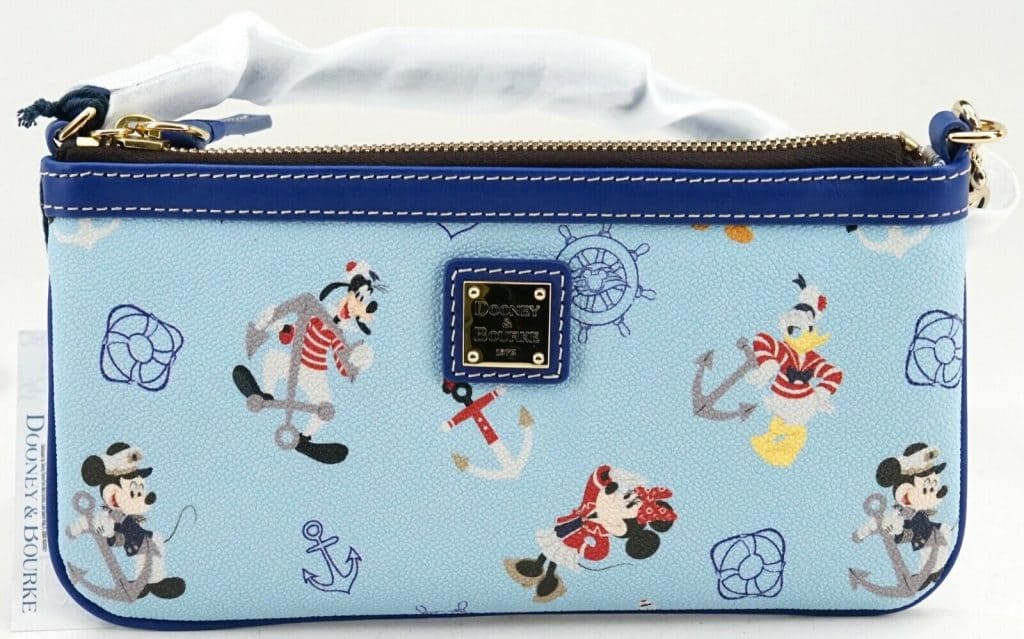 Disney Cruise Line Mickey & Friends 2019 Wristlet