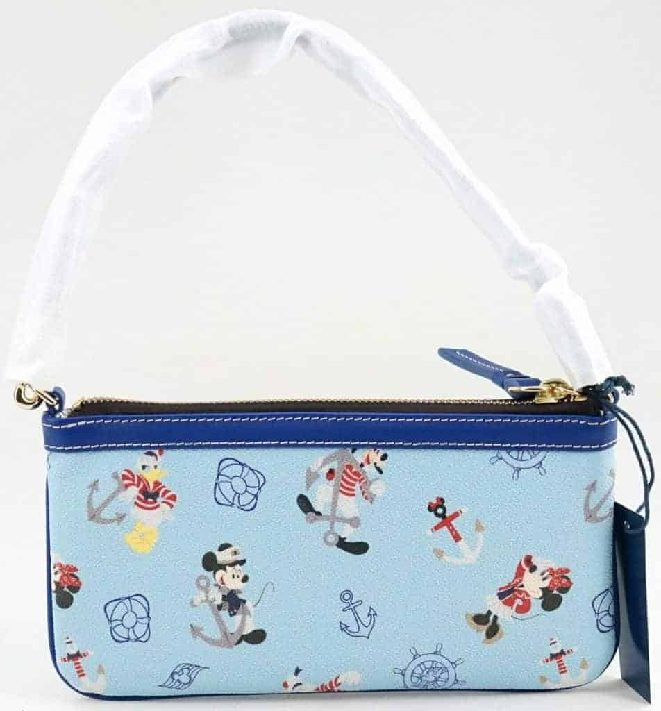 Disney Cruise Line Mickey & Friends 2019 Wristlet (back)