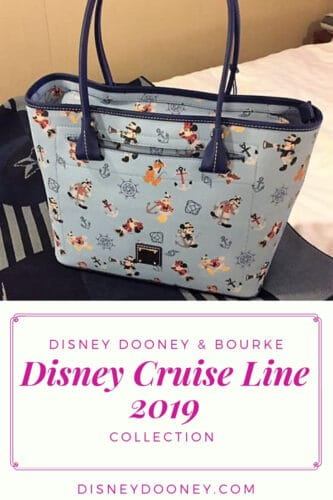 Pin me - Disney Cruise Line Mickey & Friends 2019 by Disney Dooney & Bourke