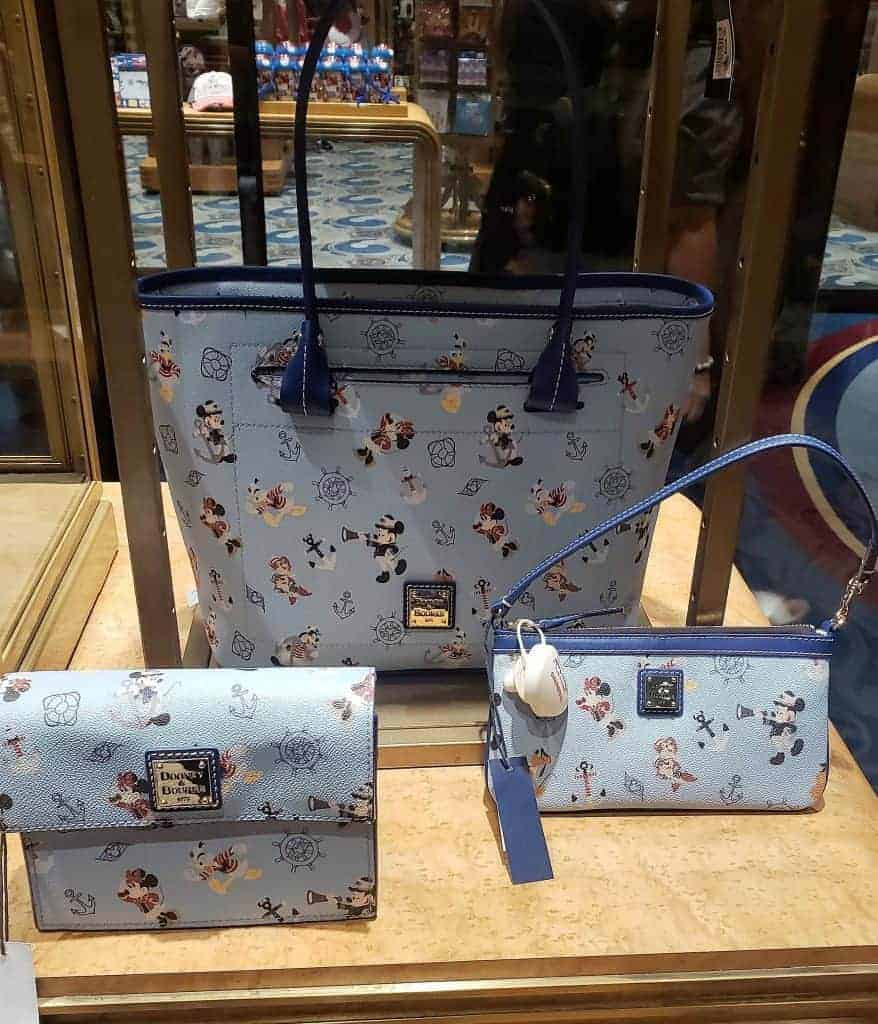 Disney Cruise Line Mickey & Friends 2019 Dooney and Bourke Collection