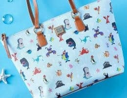 Disney Dooney & Bourke Ocean Friends Tote