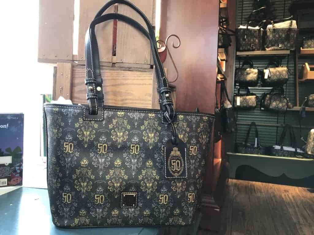 Haunted Mansion 50th Anniversary Disney Dooney & Bourke Tote