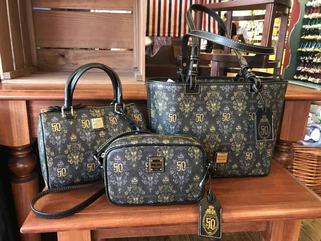 Haunted Mansion 50th Anniversary Disney Dooney And Bourke Collection