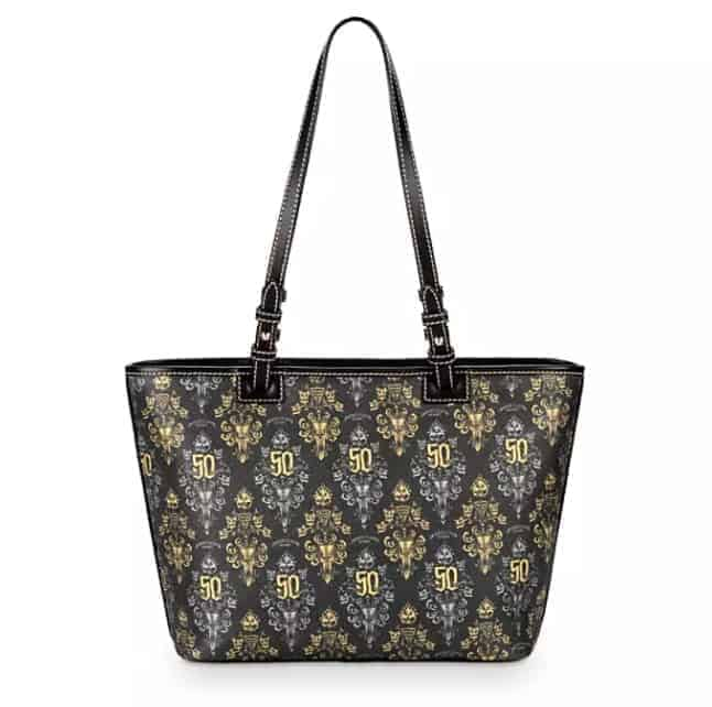 Haunted Mansion 50th Anniversary Tote (back) by Dooney & Bourke