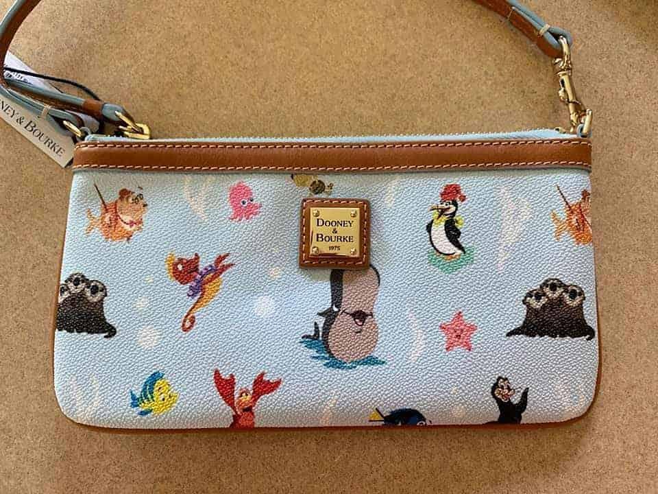 Ocean Friends Wristlet by Disney Dooney & Bourke