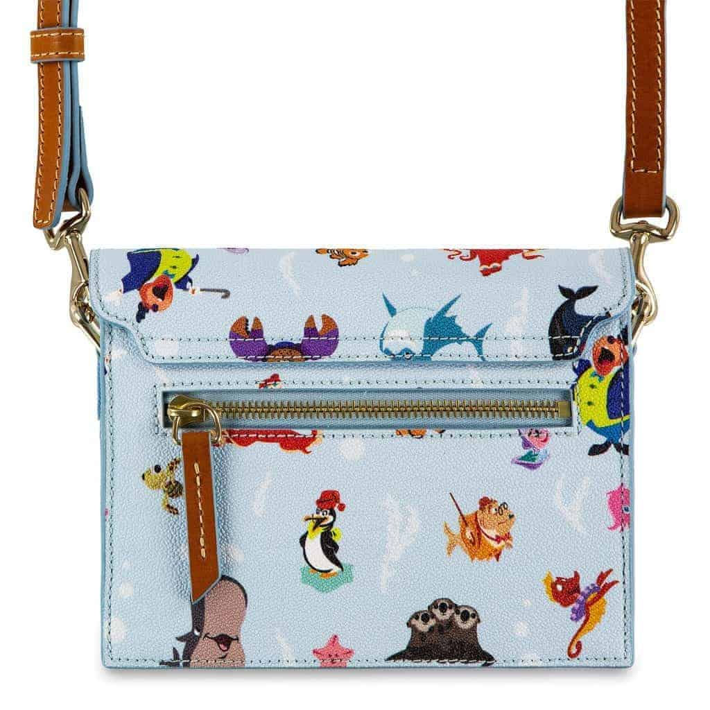 Out to Sea Crossbody (back) by Disney Dooney and Bourke