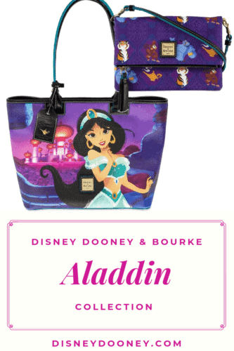 PIN ME - Aladdin and Jasmine Collection by Disney Dooney and Bourke