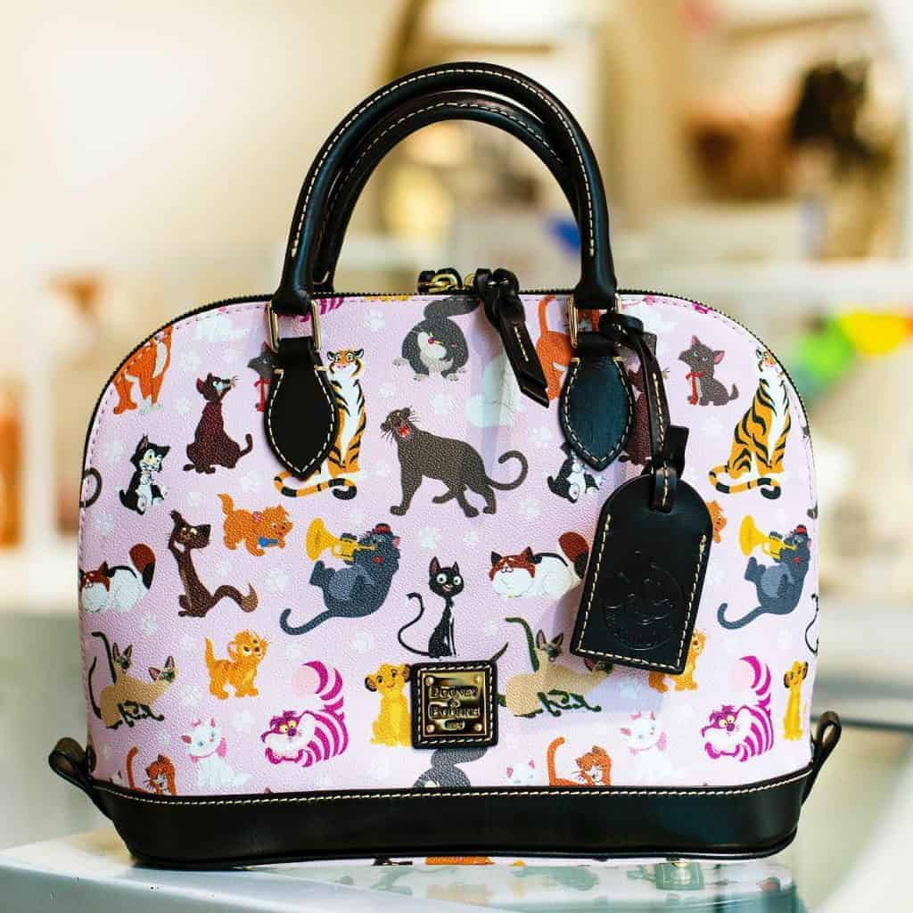 Disney Dooney & Bourke Cats 2019 Annual Passholder Satchel