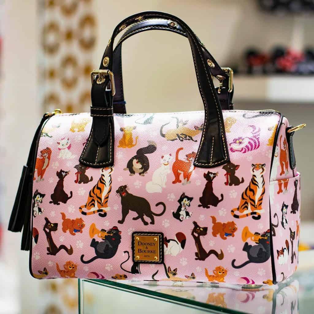 Disney Dooney and Bourke Cats 2019 Barrel Satchel