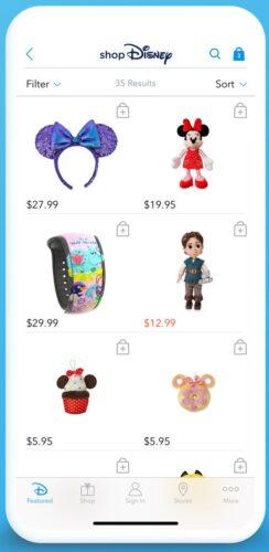 ShopDisney App
