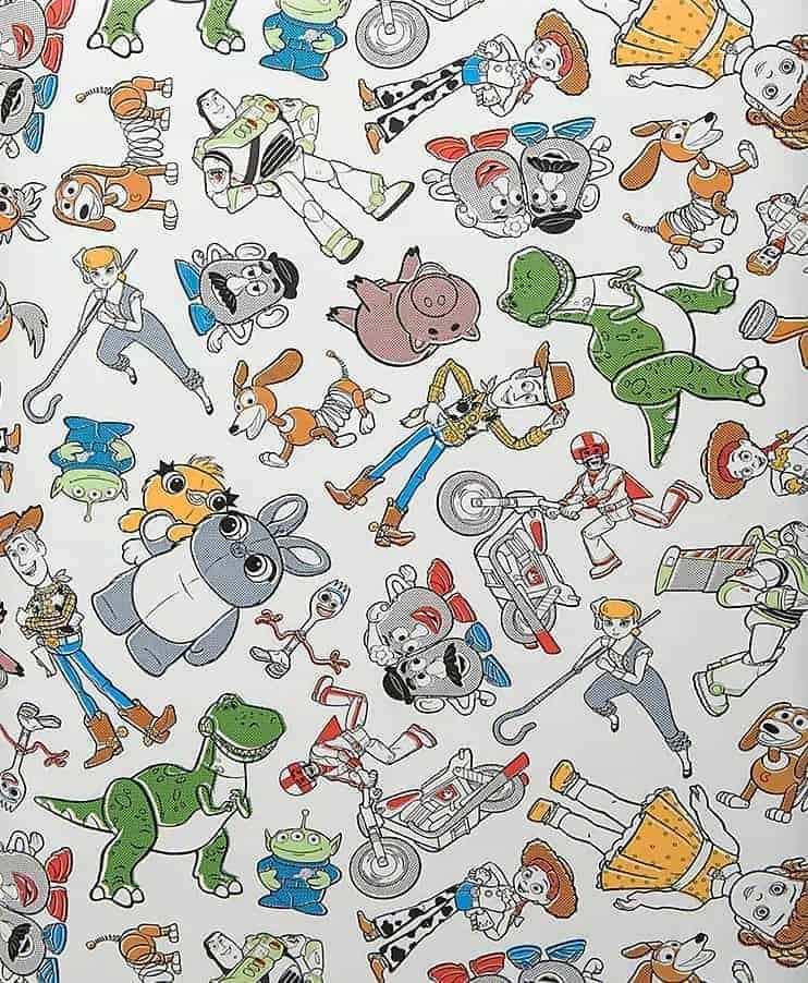 Disney Dooney and Bourke Toy Story 4 Print