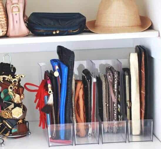Magazine Holders for Handbag Storage