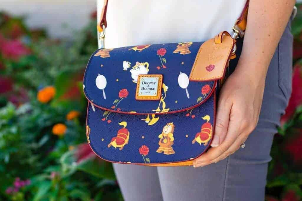 Beauty And The Beast 2019 Crossbody Messenger at Epcot