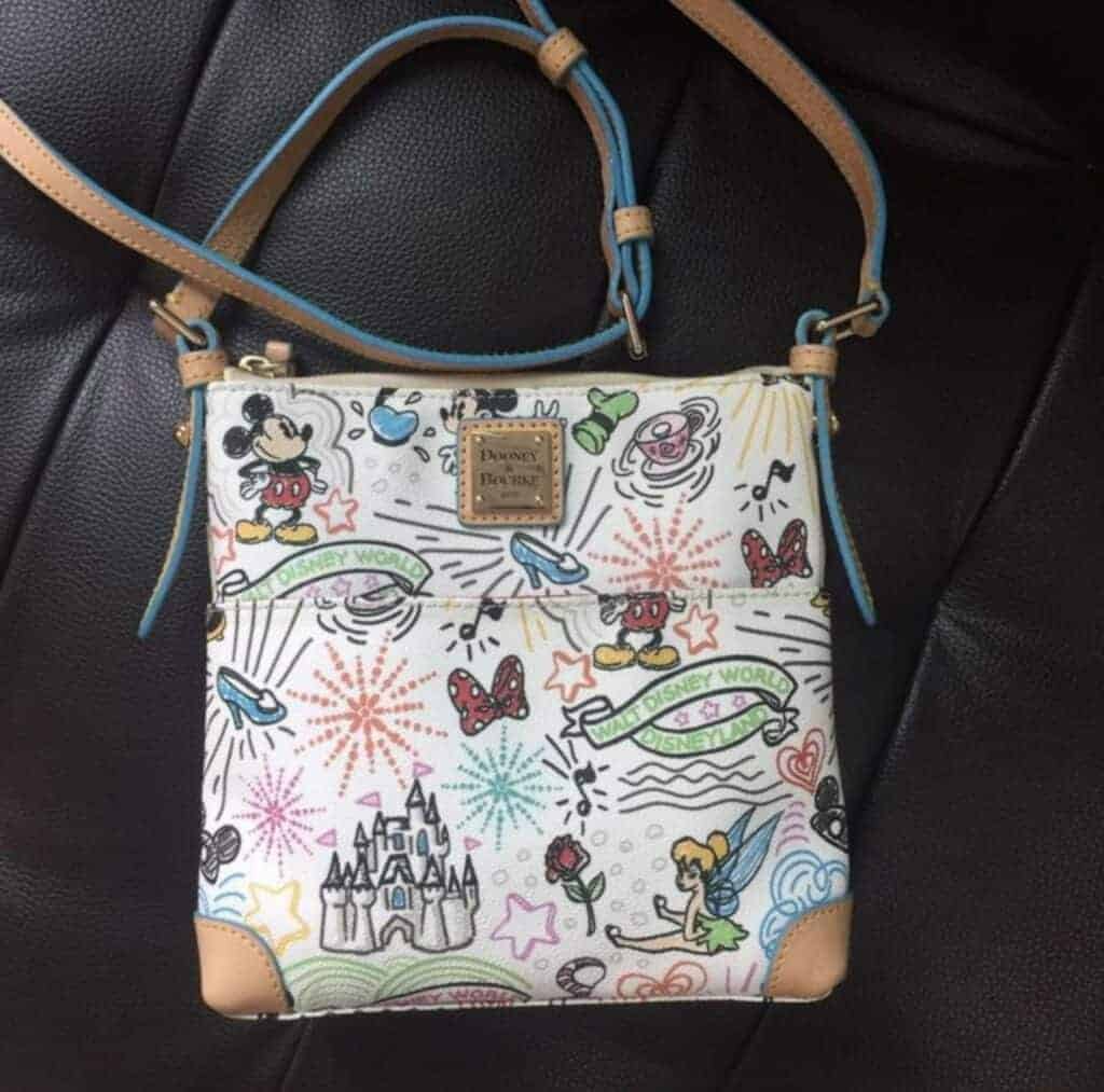 Fake Disney Dooney & Bourke Crossbody Letter Carrier