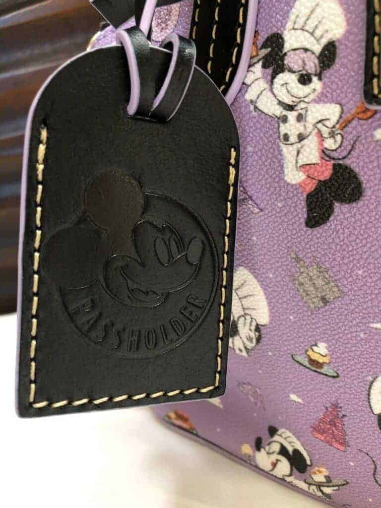 Food and Wine 2019 Annual Passholder Satchel (hangtag back)