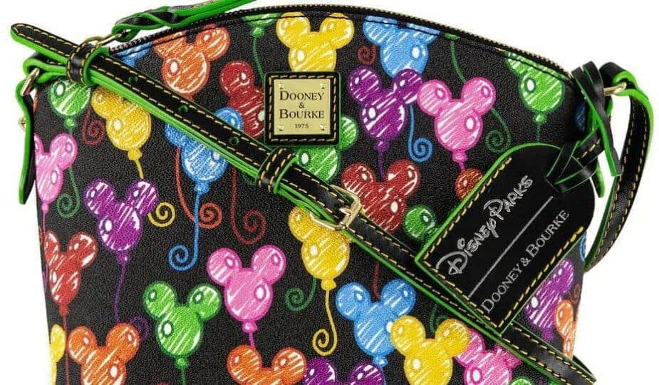 10th Anniversary Disney Dooney Bourke Crossbody Square